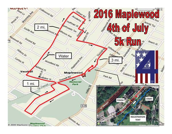 Maplewood 4th of July 5K