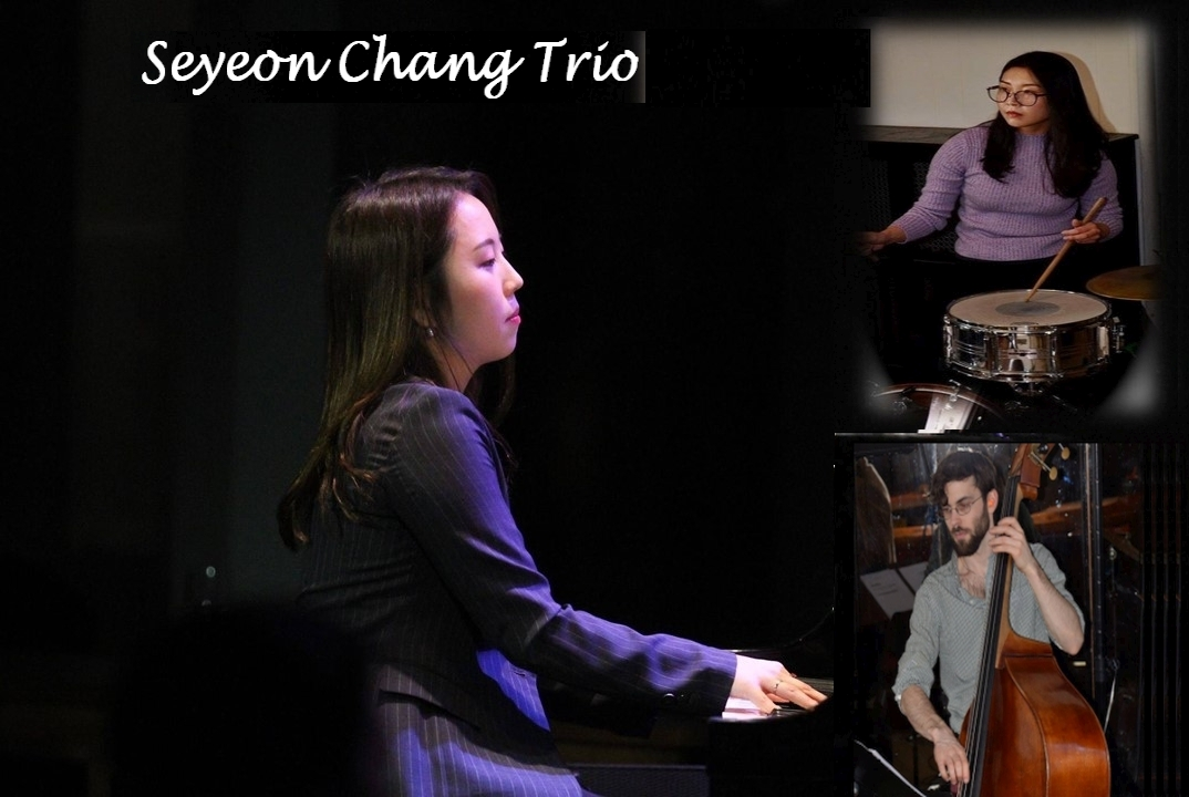 "Seyeon Chang is a professional jazz pianist, composer, arranger, educator and researcher.  As an ambitious and passionate young artist, performing, composing, and teaching music has always been her dream since she was young. Introduced to classical music from her family, she started playing piano at the age of 5. She graduated Foreign Language High School and Mokwon University in South Korea, where she got double degrees both classical composition and jazz piano for her undergraduate. She got a full scholarship for four years at her university and graduated in 2015.  In 2015, she won ""The Best Jazz Performer Award"" at the Busan Jazz Festival Competition in Korea. In 2016, she came to the United States and graduated William Paterson University for Master of Music (M.M.) in jazz performance. She has been studying with world-class musicians such as Bill Charlap, Harold Mabern, James Weidman and David Kikoski. Also, she has been playing extensively around New York, New Jersey area, while also performing in many other states across the United States.  Not only as a performer but also as a researcher, she has personal research interests about the relationship between improvisation and life experience; she has done a qualitative investigation into jazz improvisers' cognition in familiar and unfamiliar group settings"