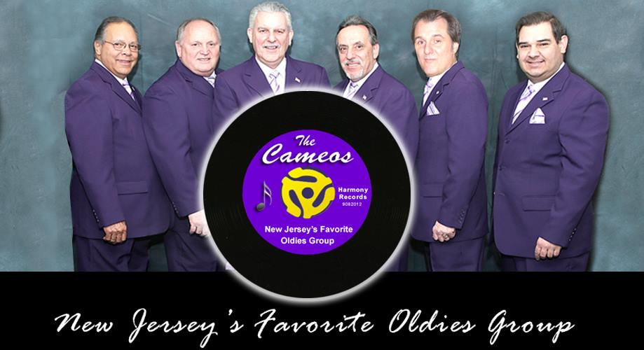 The Cameos are a talented eight-piece Oldies/Vocal Harmony group who create and perform their own unique renditions of the most popular songs of the 1950's 60's and 70's.